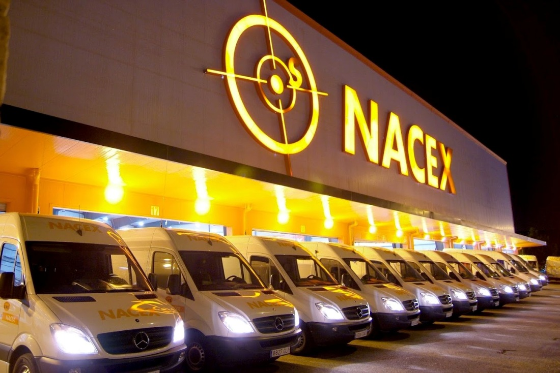 Flota de vehículos Nacex