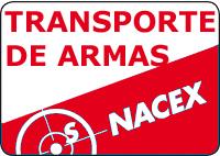 Nacex envío de armas desde Valladolid
