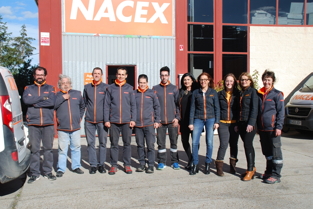 equipo Nacex Valladolid